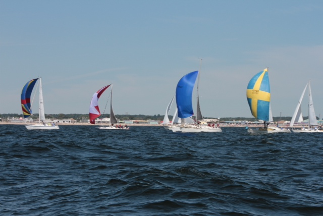 Participants in the Metedeconk River Yacht Club's JetStar Regatta. (Photo: MRYC)