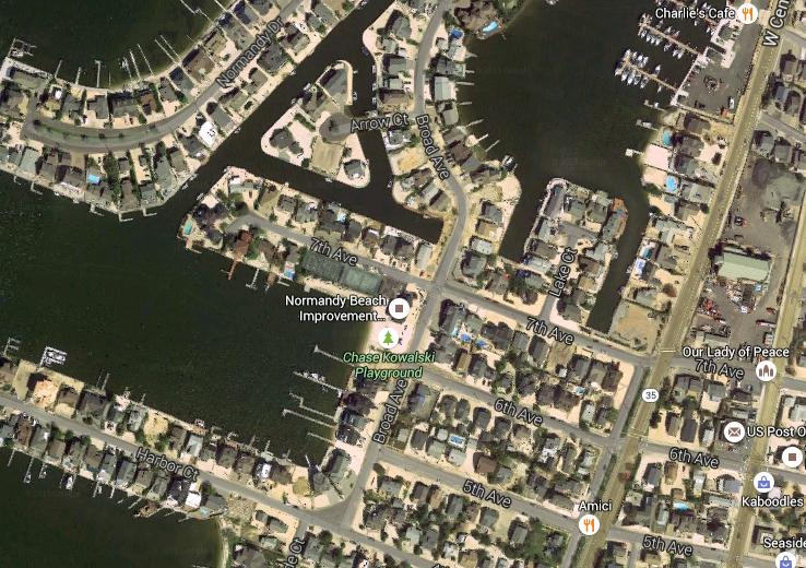 Normandy Beach (Credit: Google Maps)
