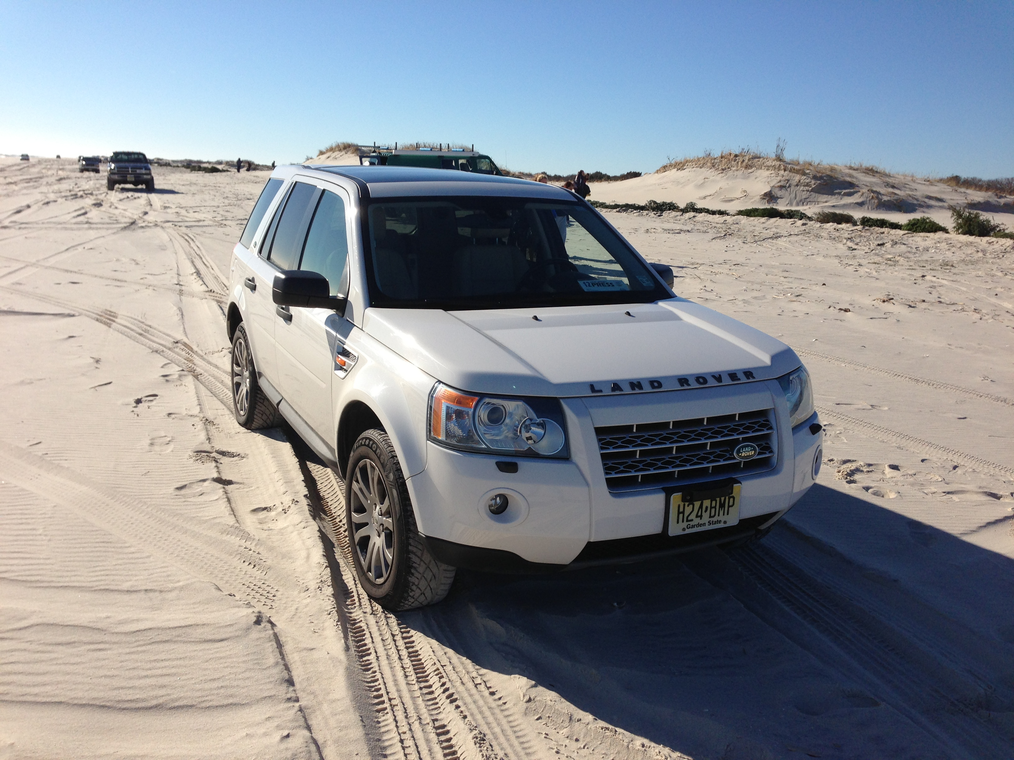 A beach buggy at Island Beach State Park. (Photo: Daniel Nee)