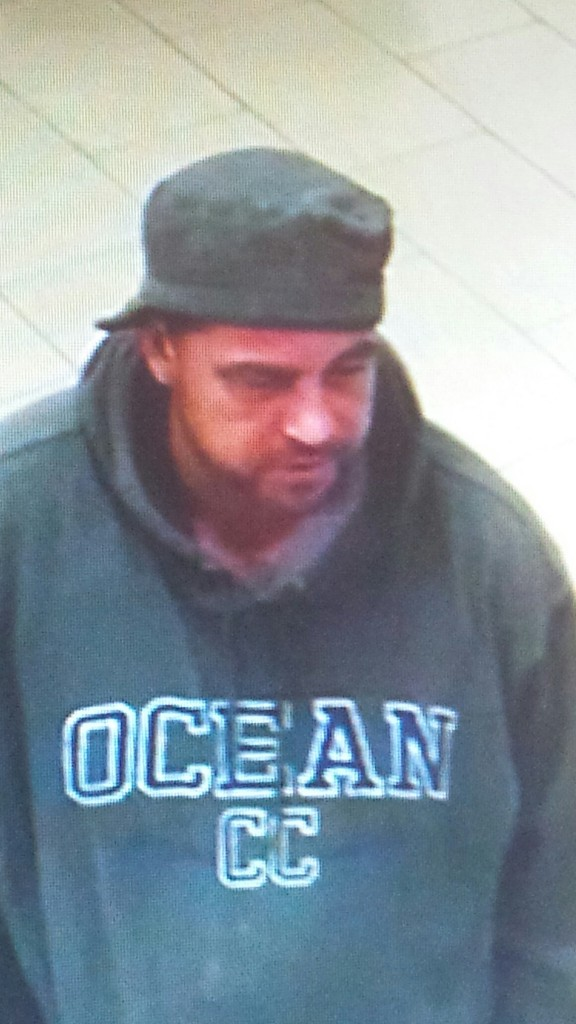 The suspect in the theft of a wallet from a car in Brick. (Photo: Brick PD)