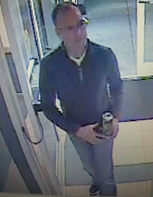 The man suspected of stealing a change machine from the Chambers Bridge Residence (Photo: Brick Twp. Police)