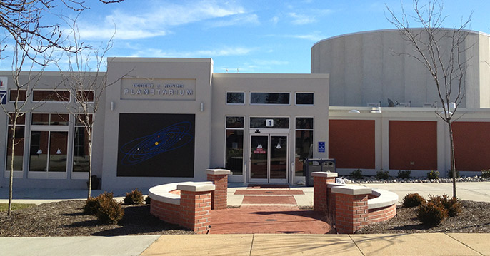 Robert J. Novins Planetarium (Photo: OCC)