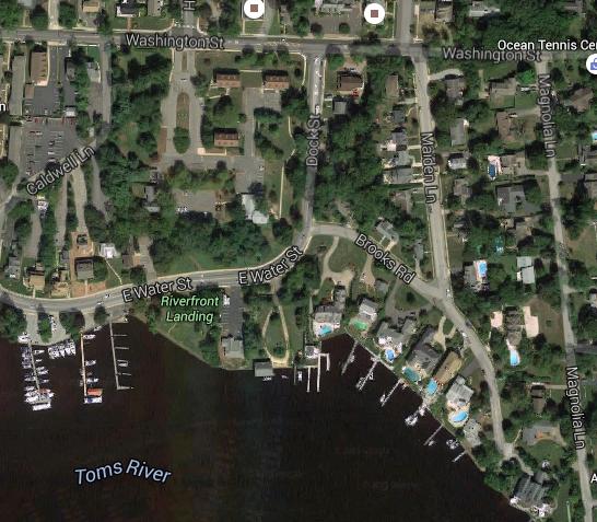 Dock Street, Toms River (Credit: Google Maps)