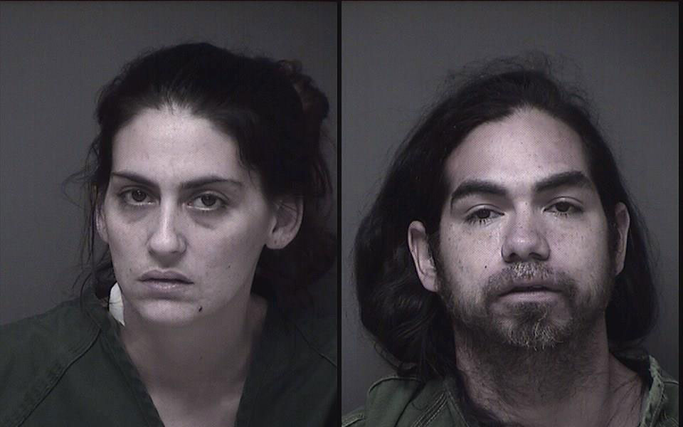 Adrienne M. Mazzuca and Edwin Hernandez (Photos: Ocean County Jail)