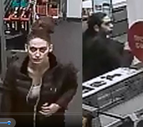 Suspects involved in a theft at Radio Shack in Brick, Dec. 28, 2015. (Photo: Brick Twp. Police)