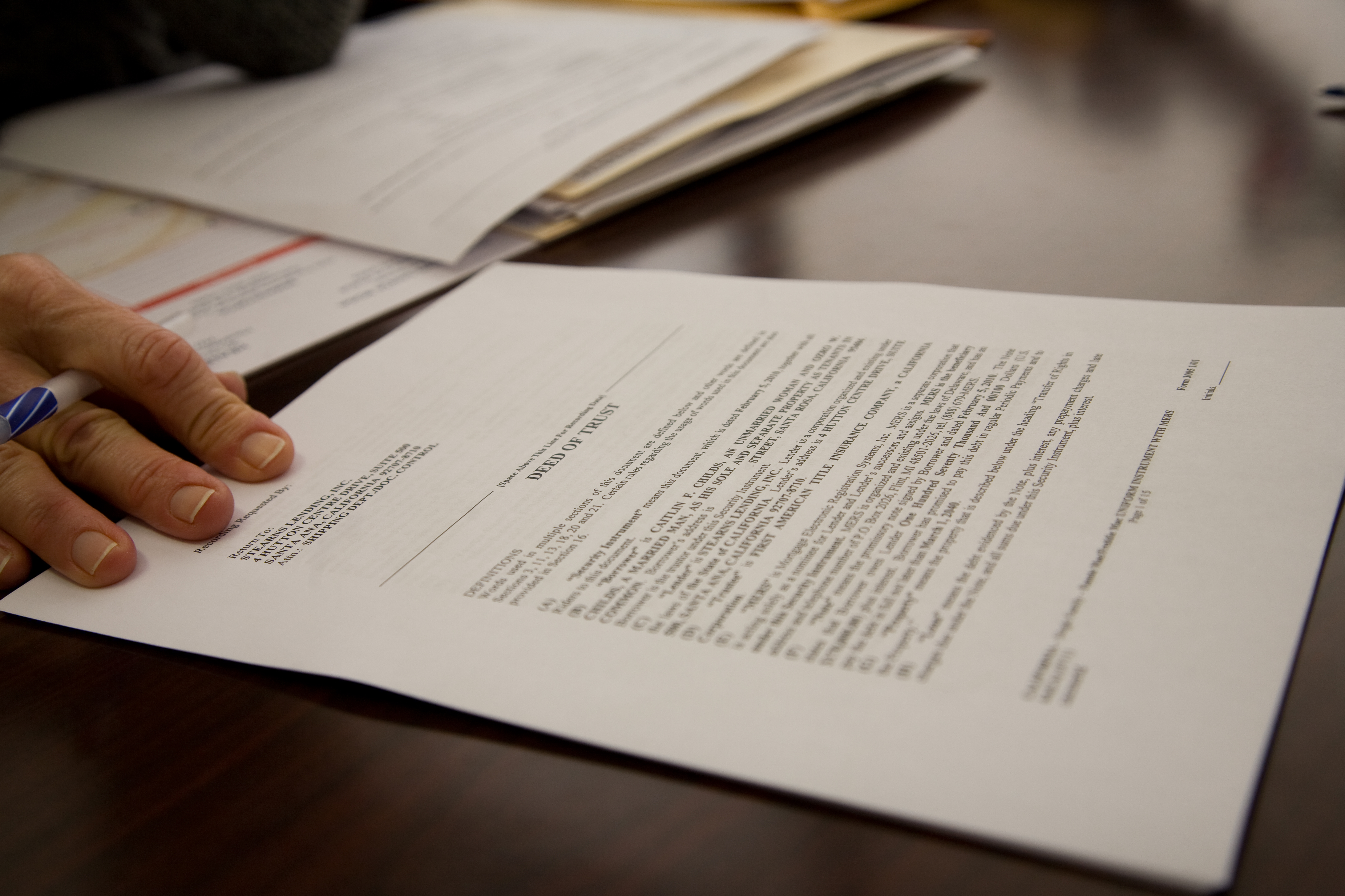 Tax paperwork. (Caitlin Childs/Flickr/File Photo)