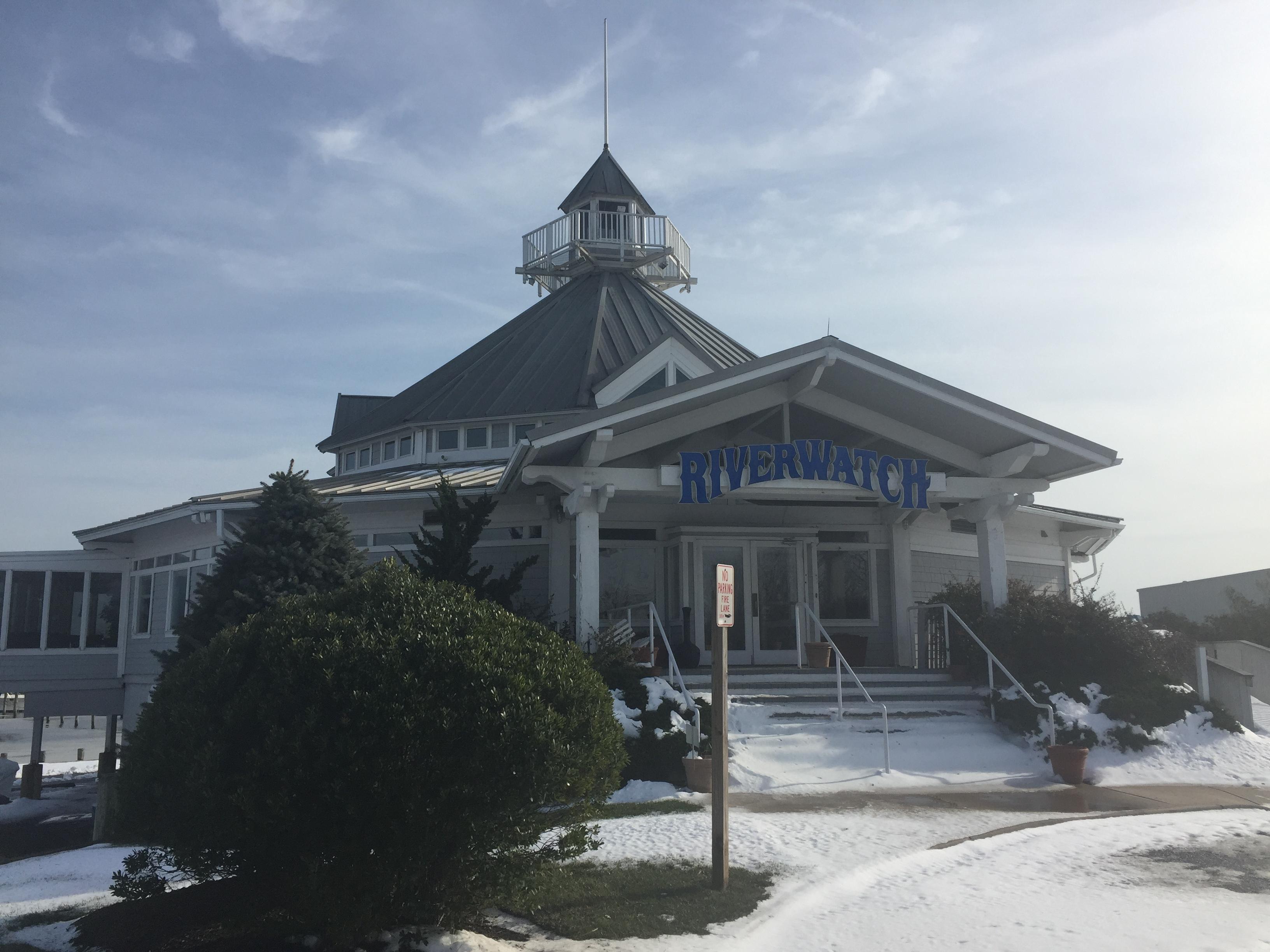 The former Riverwatch restaurant in Brick, N.J. (Photo: Daniel Nee)