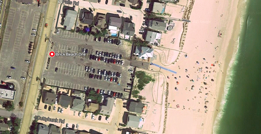 Brick Beach I (Credit: Google Maps)