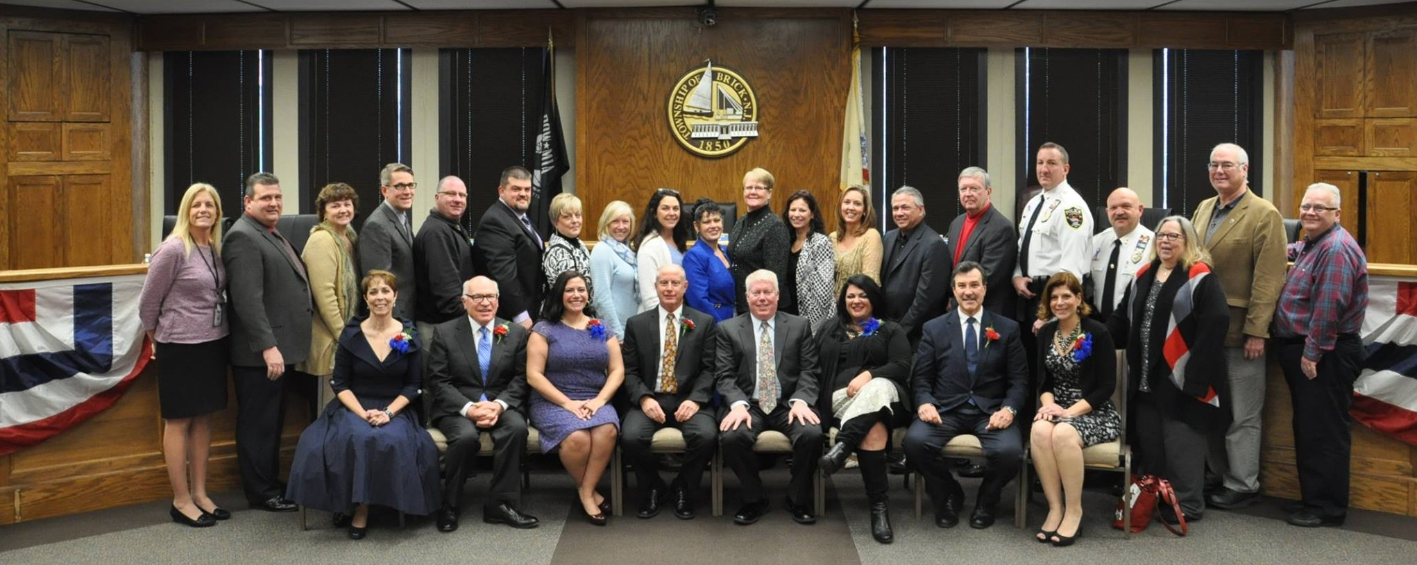 The 2016 Brick Township council and officials. (Photo: Brick Twp.)