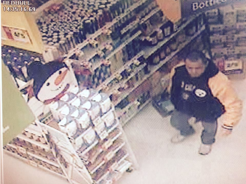The suspect in thefts from the Stop and Shop supermarket. (Photo: Brick Twp. Police)