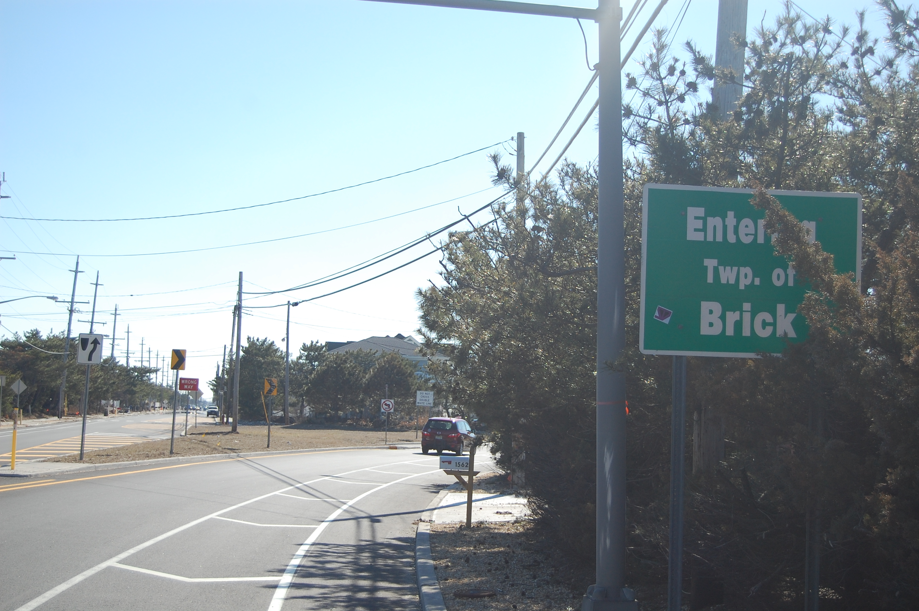 The entrance to Brick's barrier island portion. (Photo: Daniel Nee)