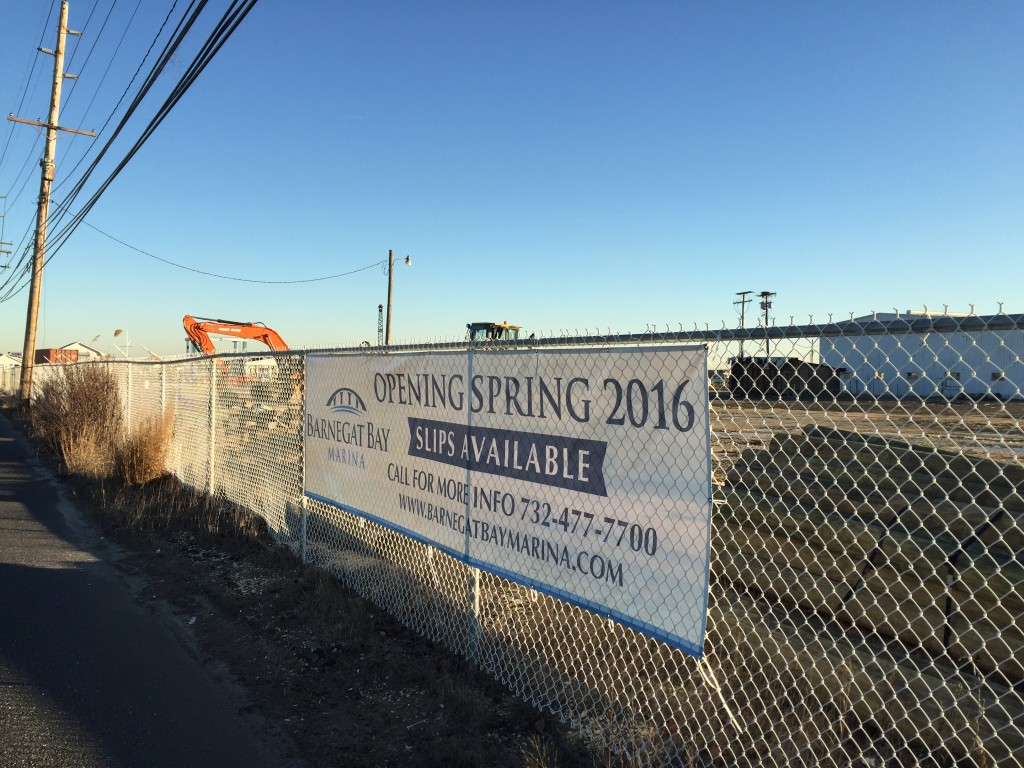 Barnegat Bay Marina will open at the former Hinckley Yacht Services property this spring. (Photo: Daniel Nee)