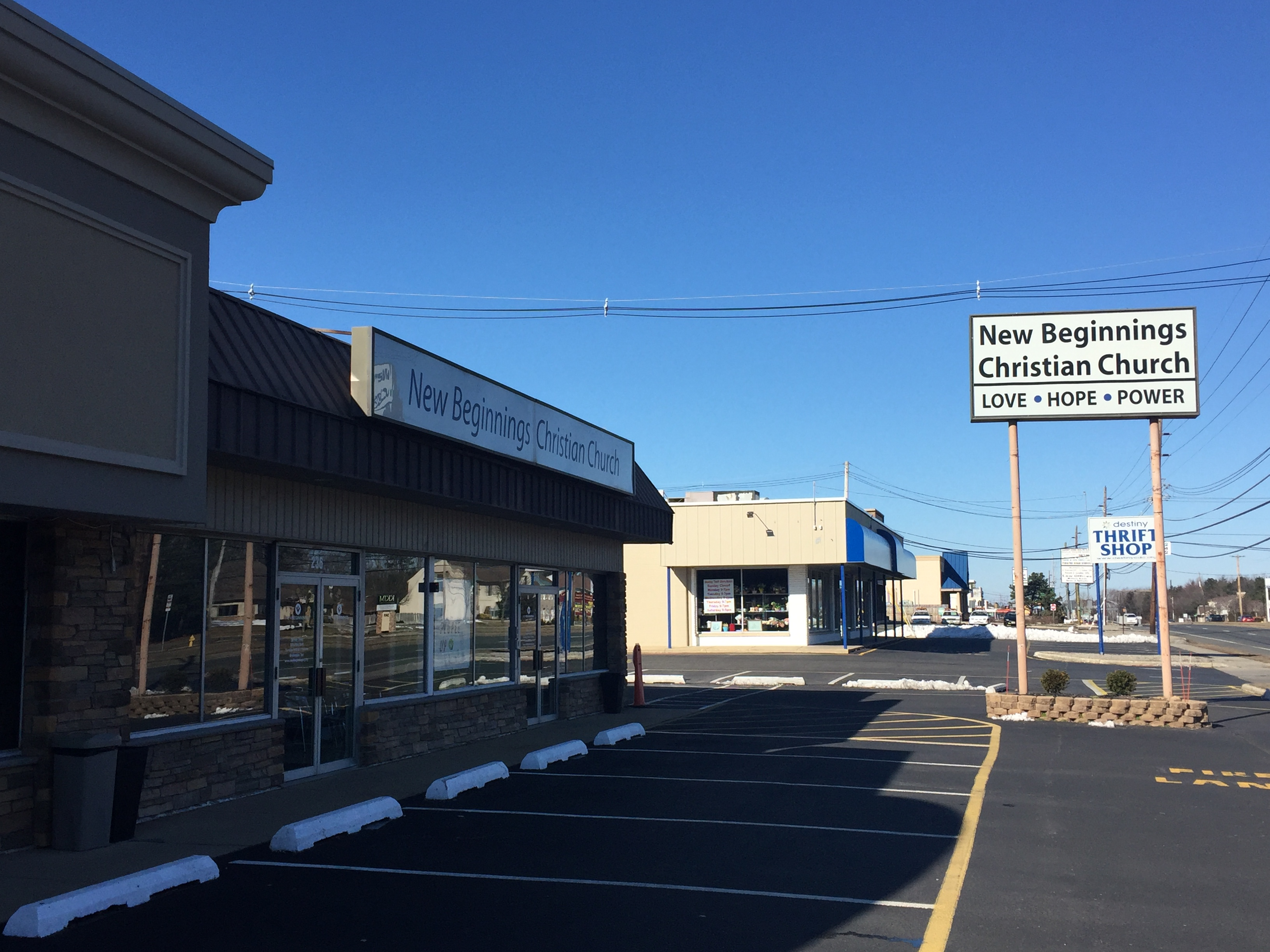 New Beginnings Christian Church, Brick, N.J. (Photo: Daniel Nee)