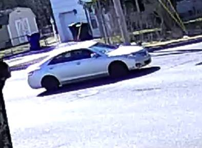 A vehicle of interest in the March 8, 2016 robbery of the TD Bank in Brick. (Photo: Brick Twp. Police)