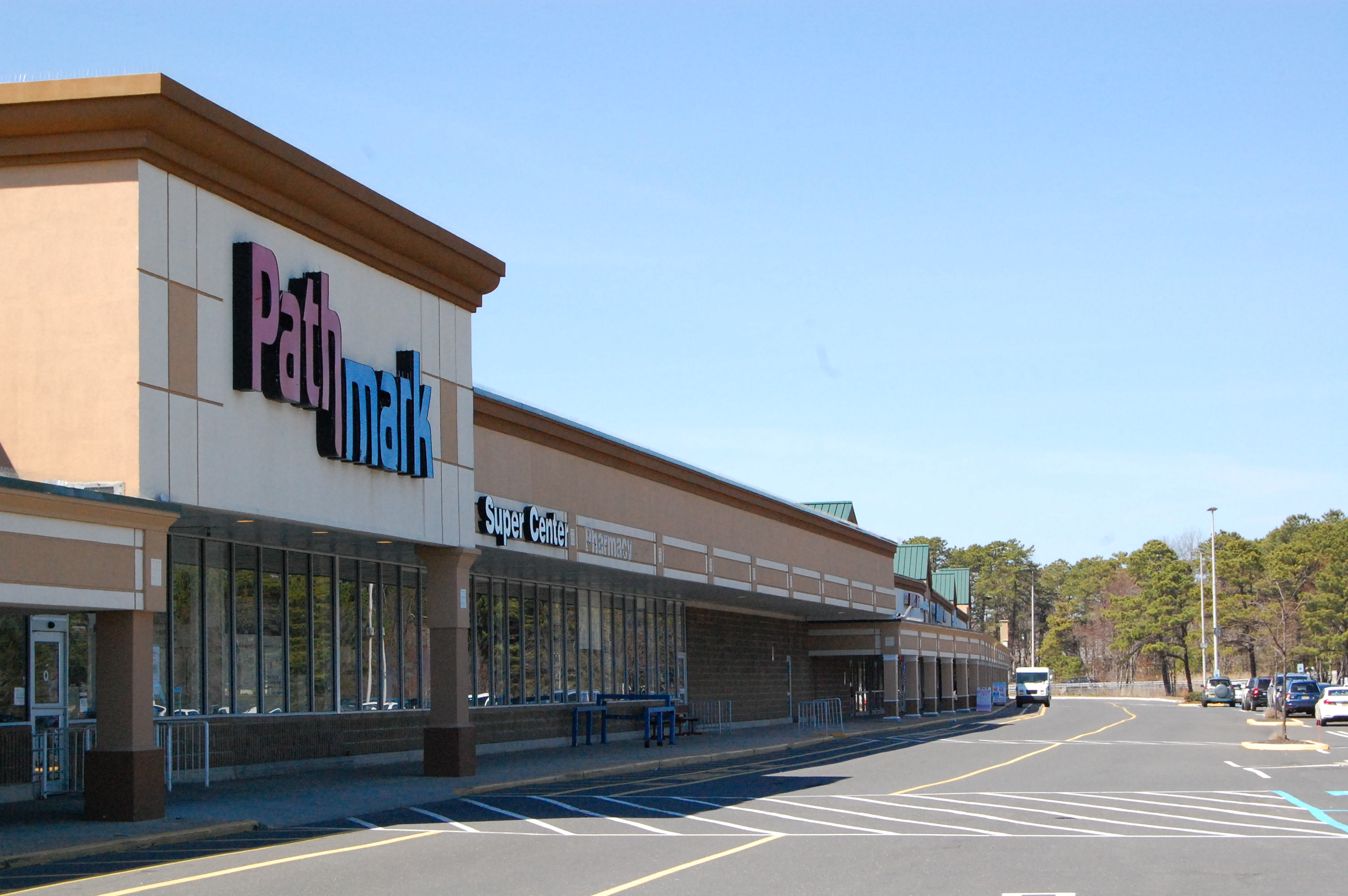 The now-shuttered Pathmark supermarket in Brick's Laurel Square shopping center. (Photo: Daniel Nee)