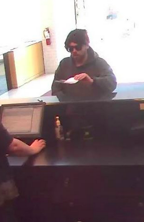 The suspect in the robbery of TD Bank in Brick. (Photo: Brick Twp. Police)