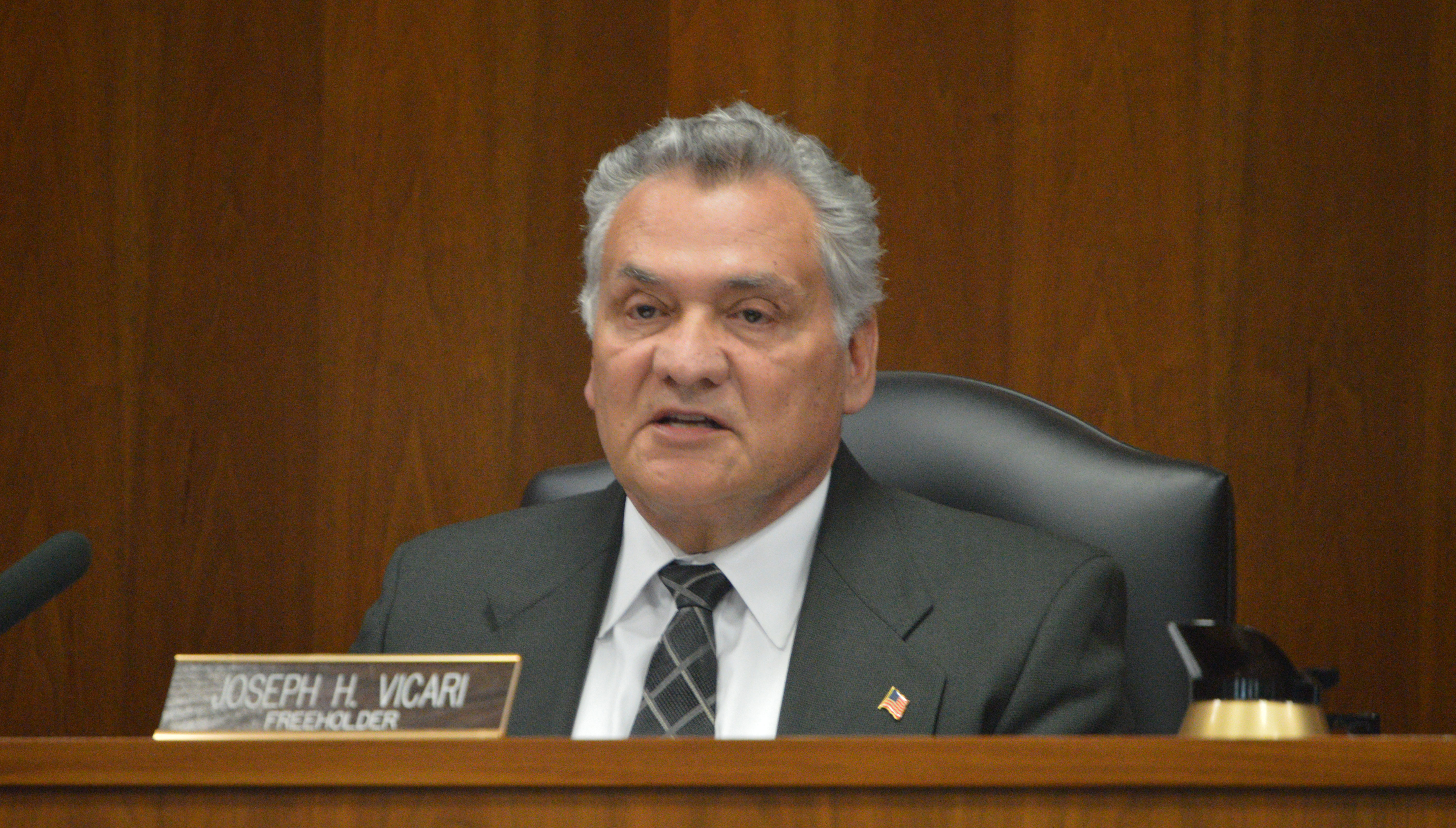 Freeholder Joseph Vicari (Photo: Daniel Nee)