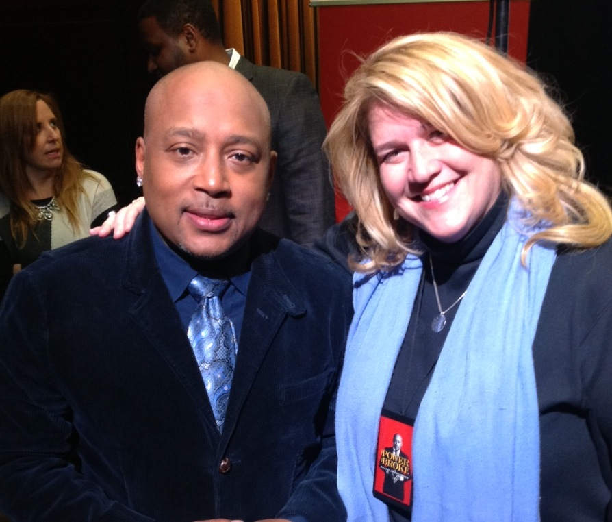 "BJ Dowlen, of Brick, with ""Shark Tank's"" Daymond John. (File Photo)"