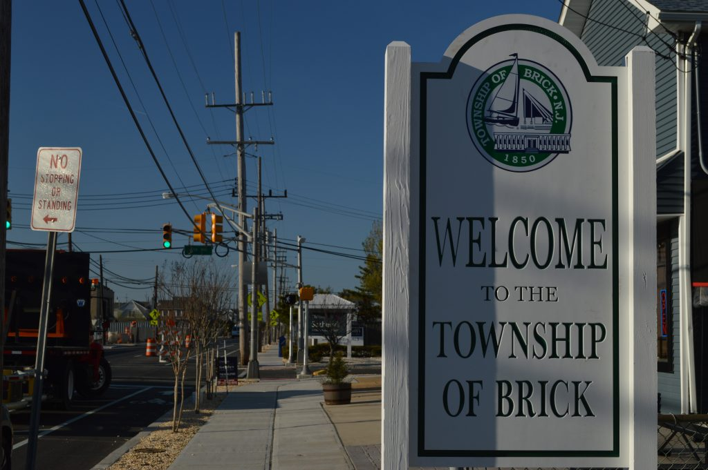 Entering Brick Township on Route 35 North, in Normandy Beach. (Photo: Daniel Nee)