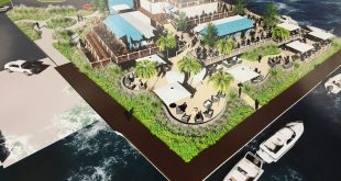 A proposed bar and restaurant to be built at Traders Cove Marina in Brick, NJ. (Photo: Daniel Nee)