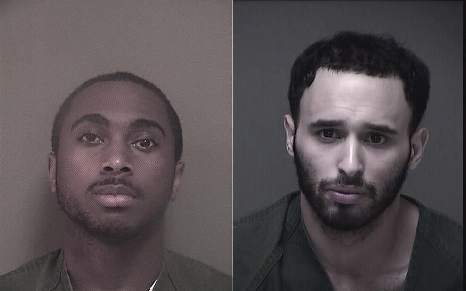 Jamie Crippen and Michael Santiago. (Photo: Ocean County Jail)