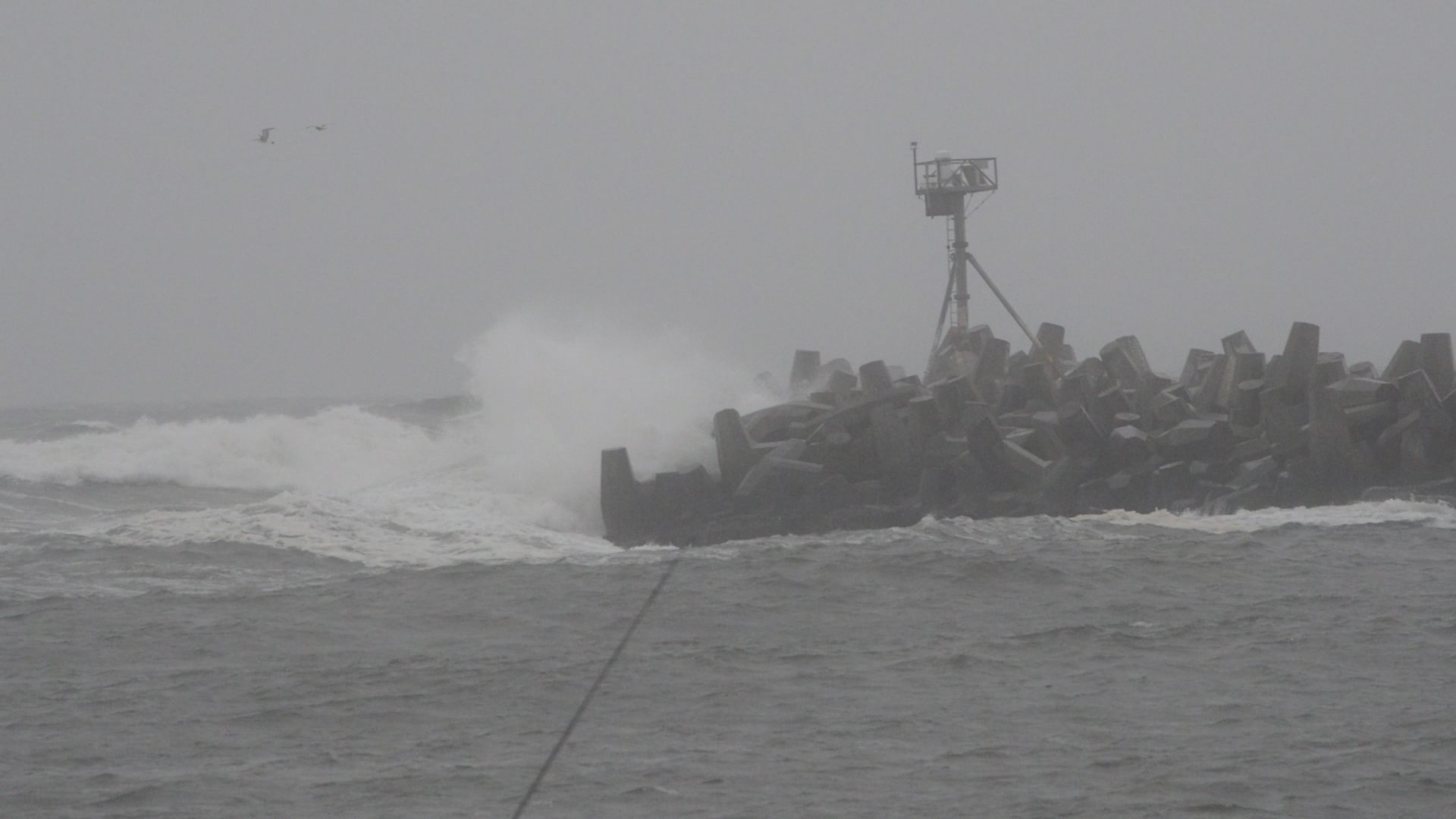 Manasquan Inlet during the May 6, 2016 storm. (Photo: Daniel Nee)