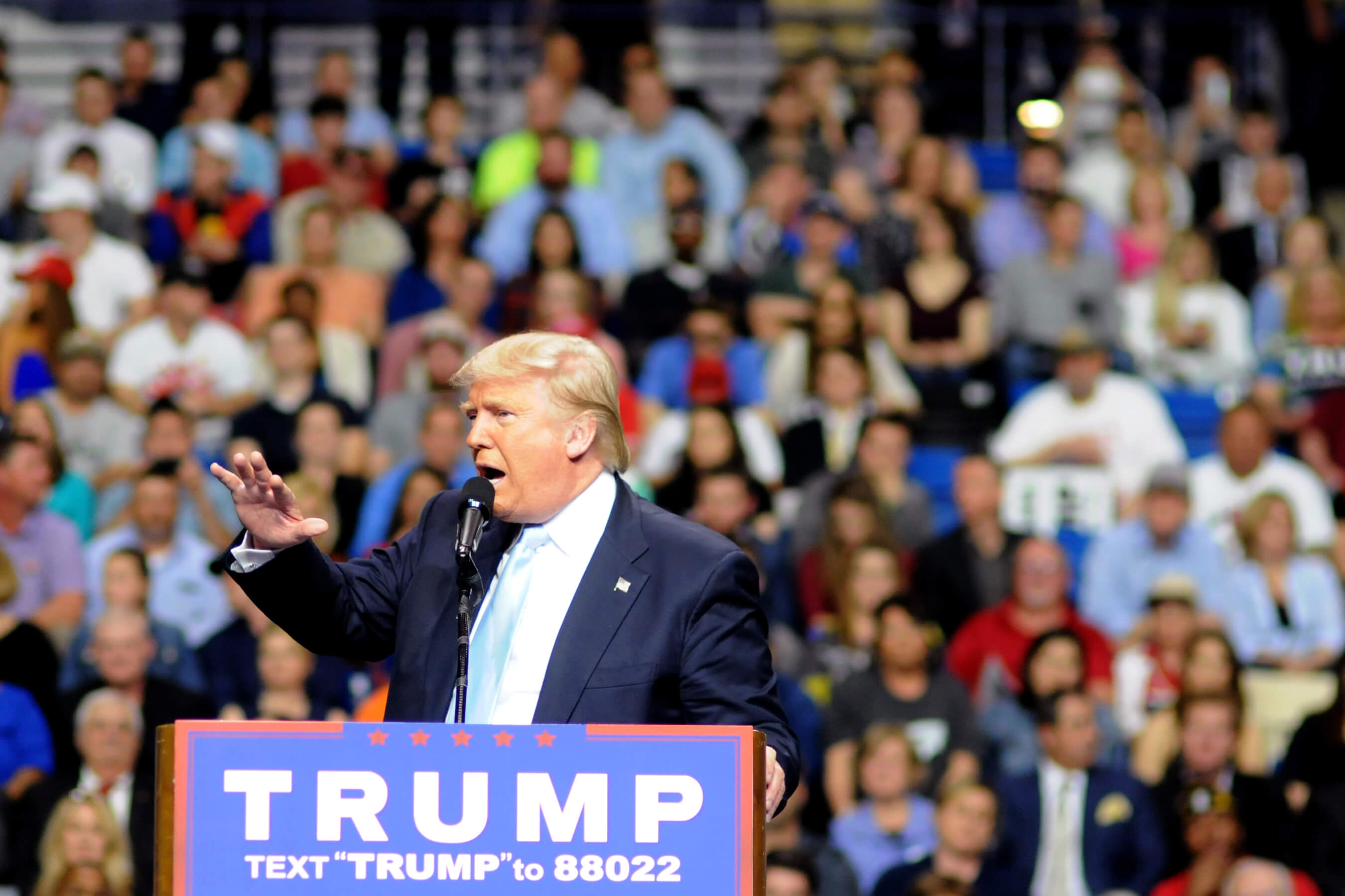 Presidential candidate Donald Trump campaigns in North Carolina. (Photo: Trump Campaign)