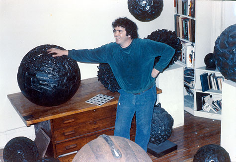 Michael Malpass, a world-famous sculptor from Brick. (Photo: Cathy Malpass)