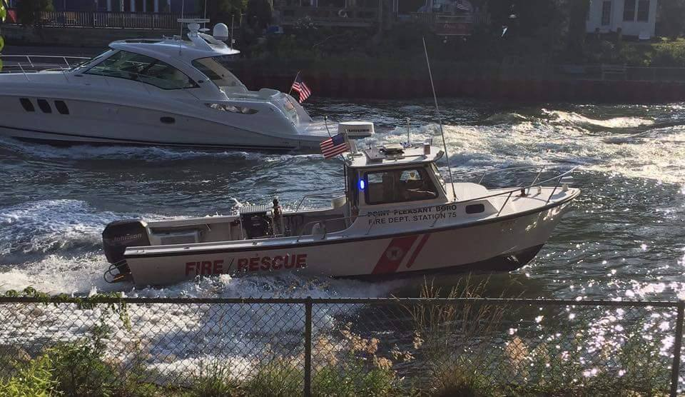Point Pleasant Borough rescue boat. (Photo: Point Pleasant Fire Department)