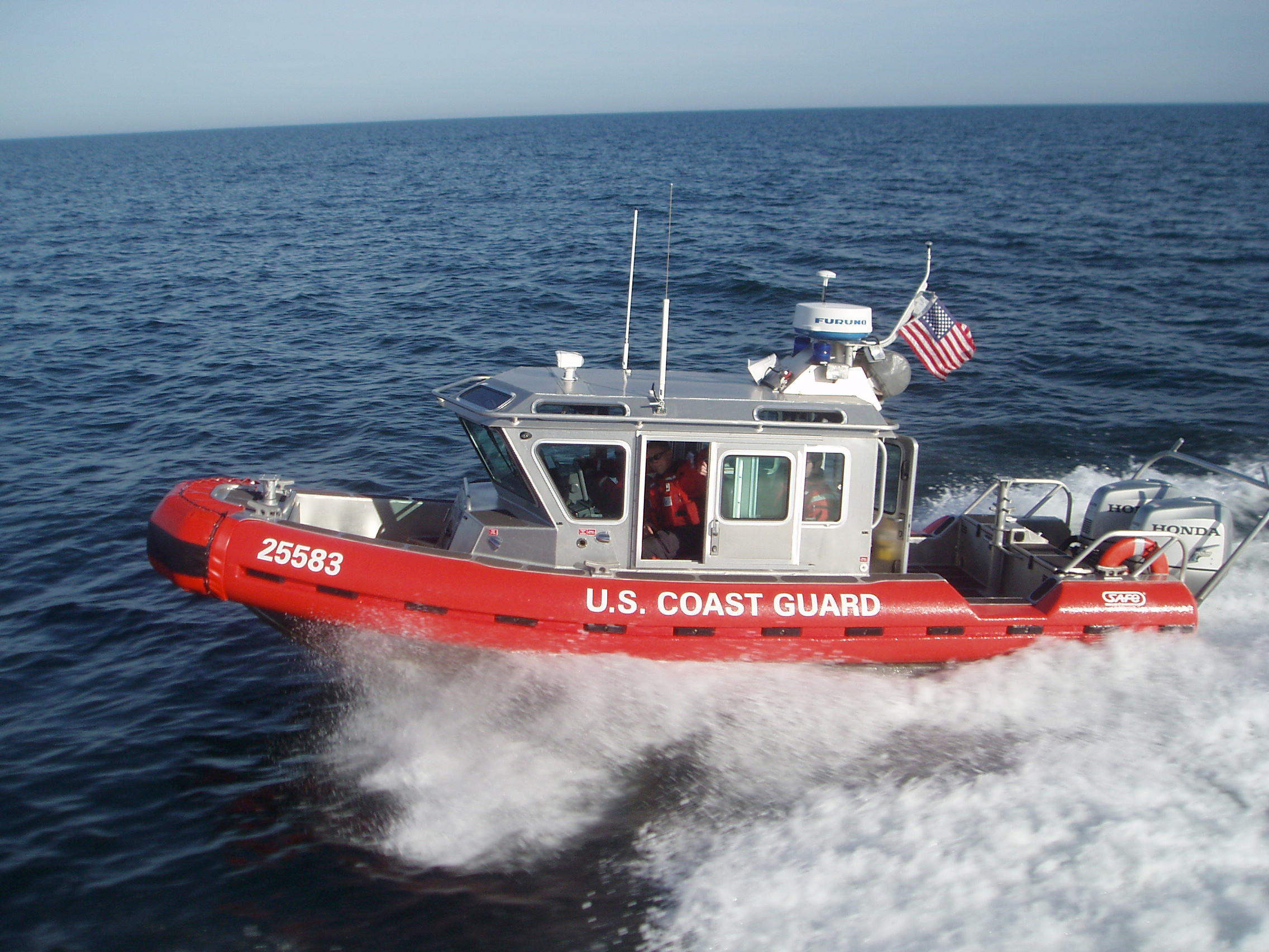 A 25-foot Defender-class response boat. (Photo: U.S. Coast Guard)
