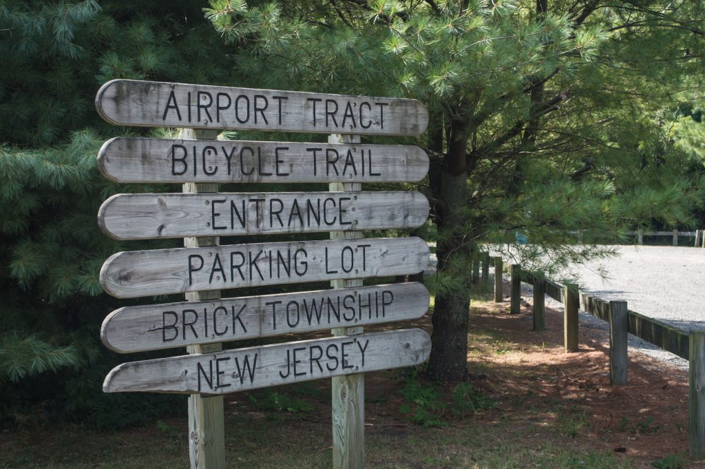 The Airport Tract bike and walking path in Brick. (Photo: Daniel Nee)