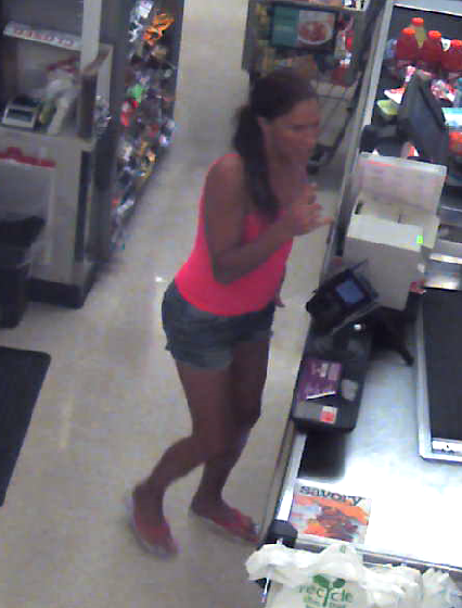 A woman wanted for questioning by Point Pleasant Borough police. (Photo: Point Pleasant PD)