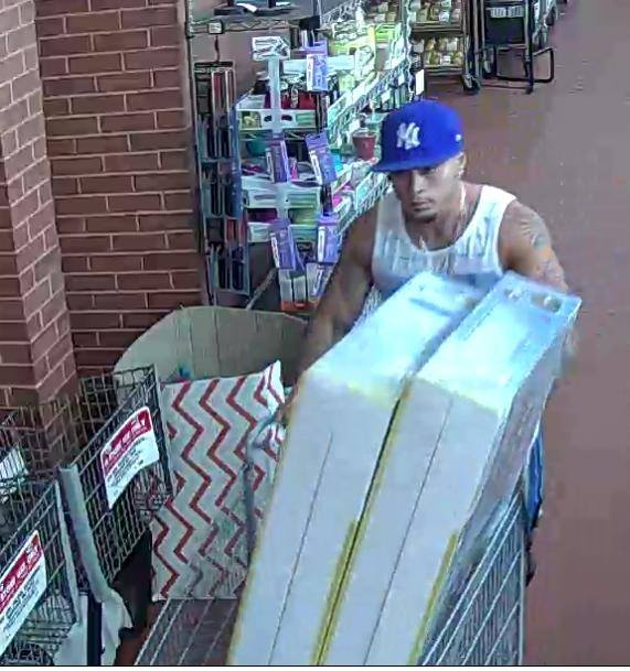 The suspect in a theft from the Brick ShopRite supermarket. (Photo: Brick Twp. Police)