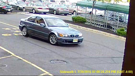 The suspect vehicle in a theft from the Brick ShopRite supermarket. (Photo: Brick Twp. Police)