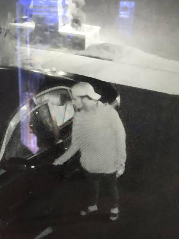 The suspect who stole cash from vehicles, Sept. 4, 2016. (Photo: Brick Twp. Police)