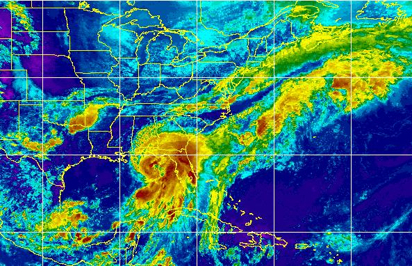 Hurricane Hermine, Sept. 1, 2016. (Credit: CIMSS/Tropical)