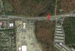 The site of a proposed car dealership at 949 Burnt Tavern Road, Brick. (Credit: Google Maps)