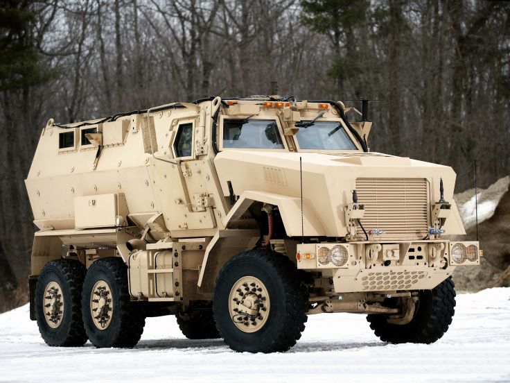 A BAE Systems Caiman vehicle, similar to one Brick will be receiving for free. (Credit: BAE Systems)