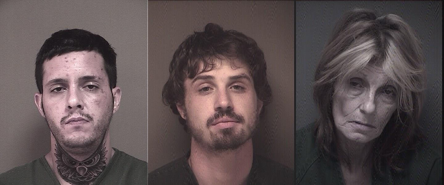 The suspects who were allegedly operating a 'rolling meth lab' in Ocean County. (Photos: Ocean County Jail)