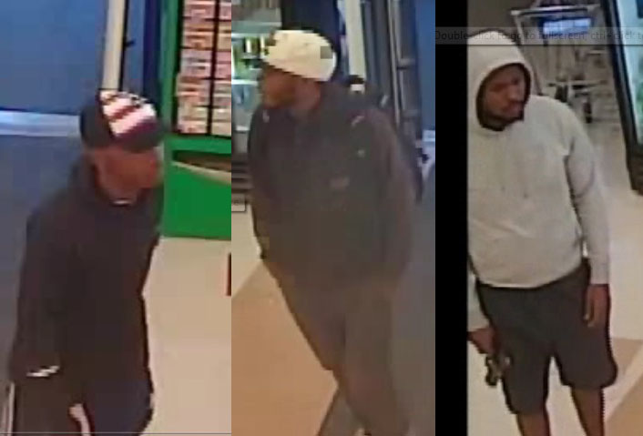 Suspects in the armed robbery of the Brick Rite Aid store. (Photos: Brick Twp. Police)