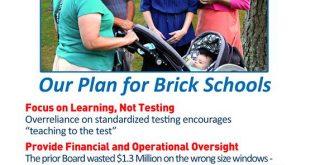 A 2016 school board campaign ad. (File)