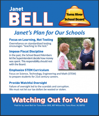 A 2016 school board campaign ad. (File)