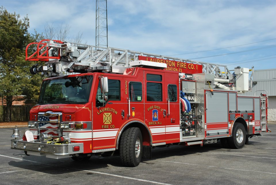 A Laurelton Fire Company truck. (Credit: Brick Fire)