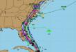Oct. 4, 2016 Hurricane Matthew forecast models. (Credit: TropicalTidbits.com)
