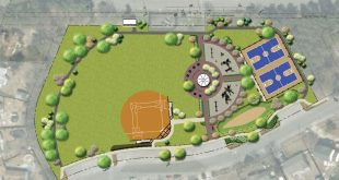 A rendering of the Birchwood Park reconstruction project. (Credit: Township of Brick)