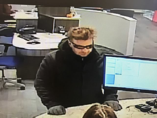 The suspect in the Nov. 22 robbery of Manasquan Savings Bank in Brick. (Photo: Brick Twp. Police)