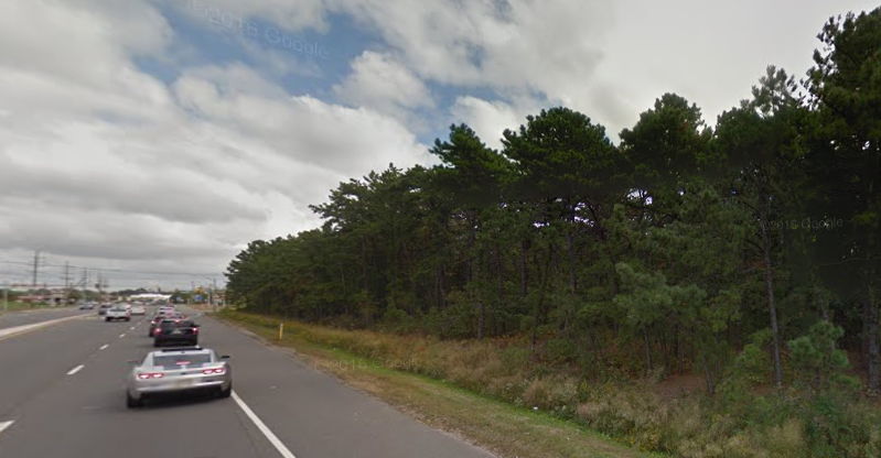 The site on Route 70 where a Wawa and Panera Bread are proposed. (Credit: Google Maps)