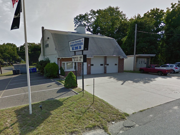 The former Herbertsville EMS building. (Credit: Google)