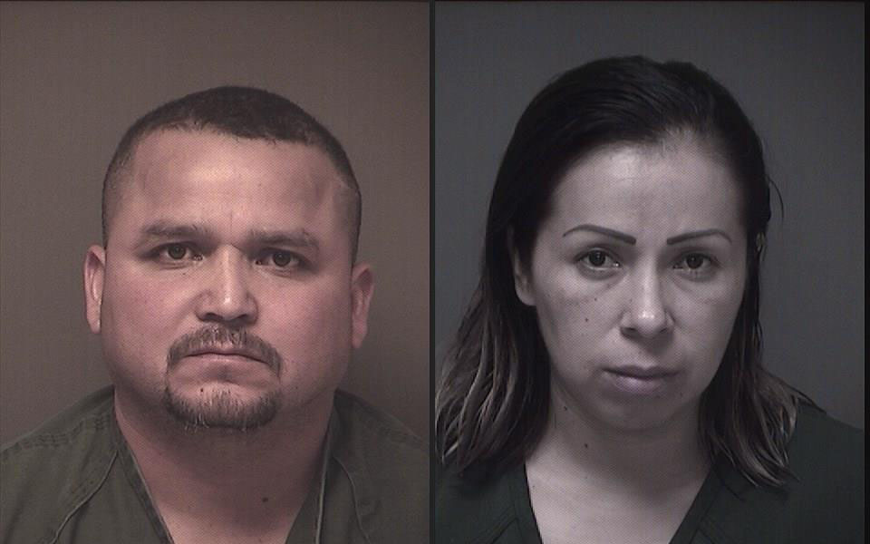 Gerardo Parada-Reyes and Veronica Anguiano-Hernandez, Brick residents charged in a cocaine distribution case. (Photos: Ocean County Jail)