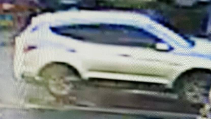 A silver SUV suspected of being involved in a theft, Jan. 11, 2017, in Brick. (Photo: Brick Twp. Police)